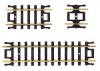 ATLAS 2509 STRAIGHT TRACK ASSORTMENT (10) N