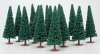 MODELPOWER 1425 EVERGREENS ASSORTED (15) HO