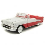 WELLY 22432 1:24 OLDSMOBILE SUPER 88 CONVERTIBLE 1955 RED OR GREEN