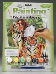 ROYAL PJS27 JUNIOR PAINT BY NUMBER TIGERS 8-3/4X11-3/4