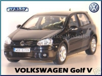 WELLY 12548 1:18 VW GOLF V BLACK OR RED