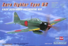 HOBBYBOSS 80241 1:72 JAPAN ZERO FIGHTER TYPE 52