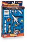 REALTOY RT38145K LUNAR EXPLORER 16 PIECE PLAYSET W/KENNEDY SPACE CENTER SIGN